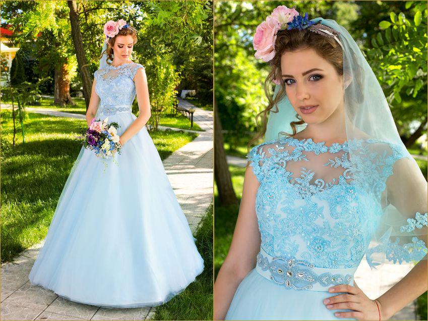 Какой цвет свадебного платья выбрать в 2014-2015 году
