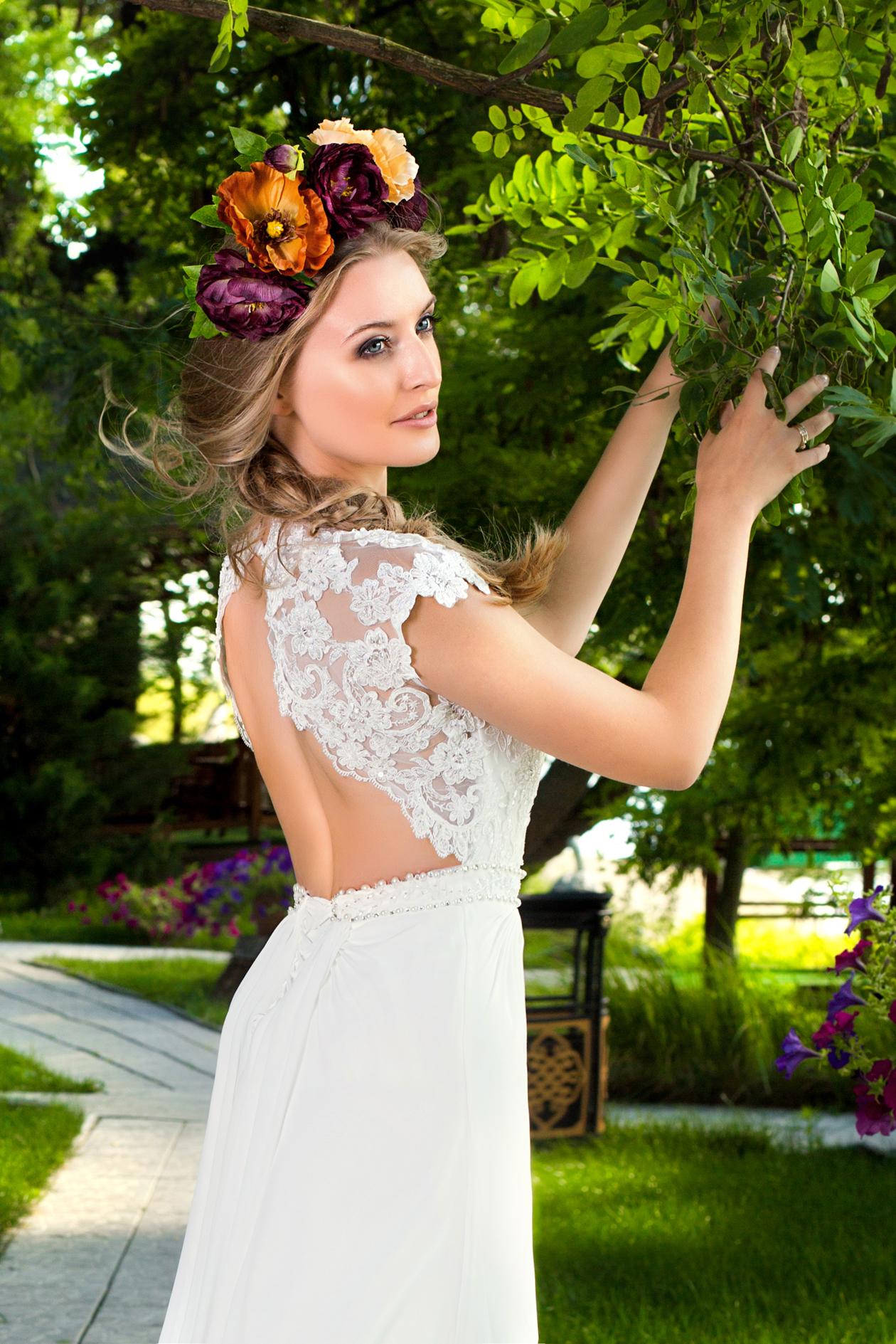 Романтические свадебные платья