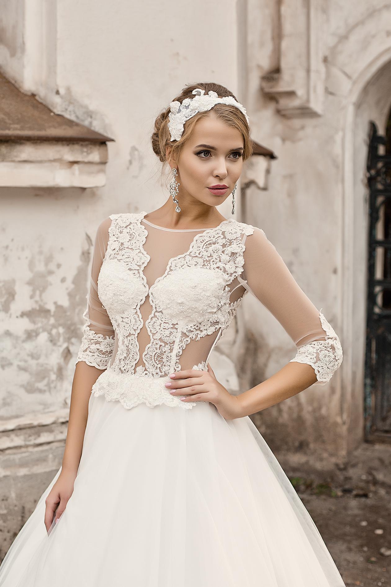 свадебные платья класса люкс