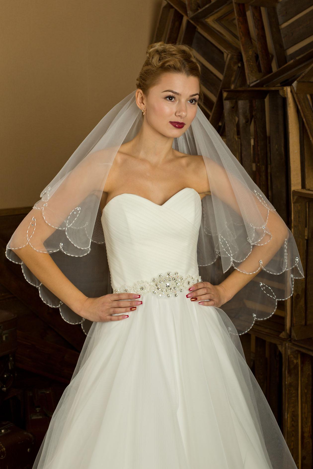 Выбор свадебной фаты