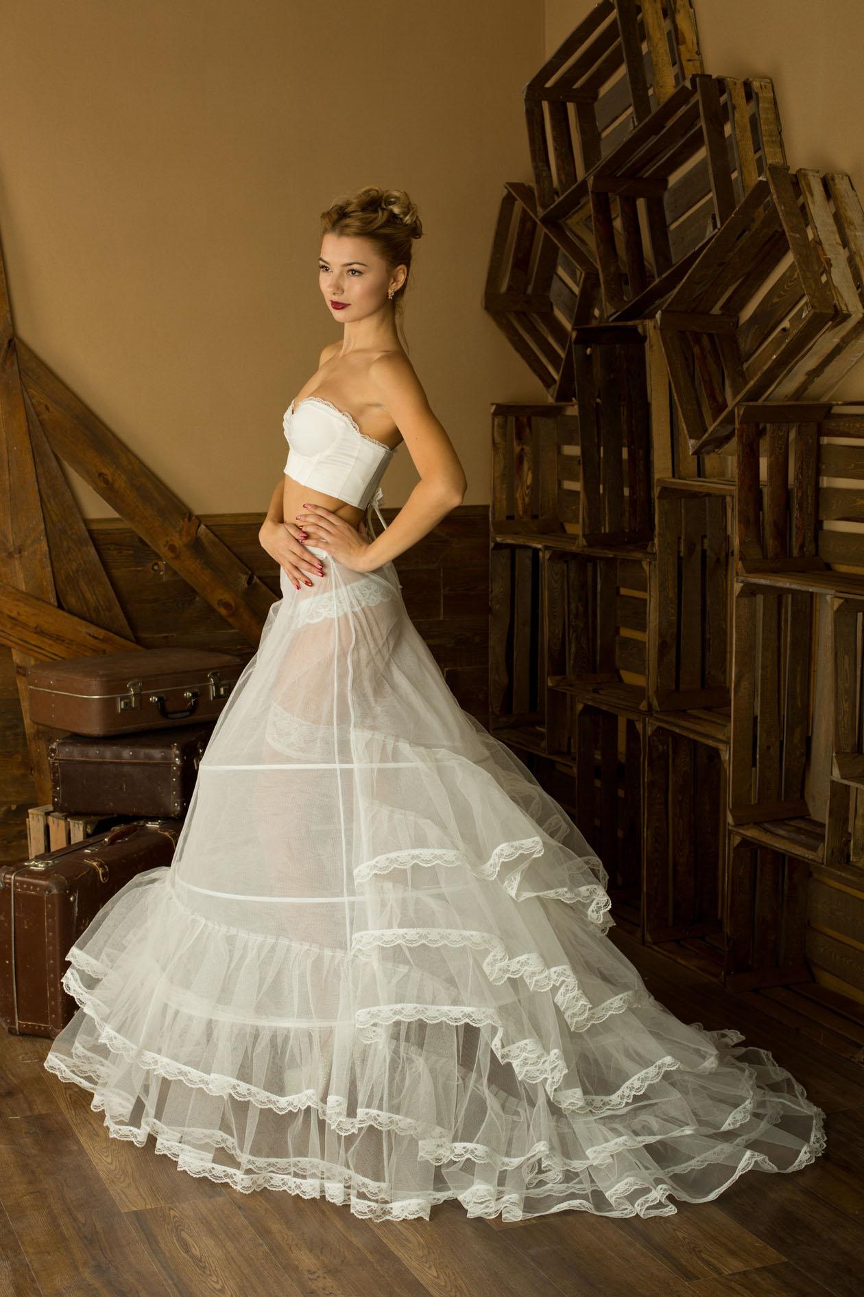 Кринолин Для Свадебного Платья Купить