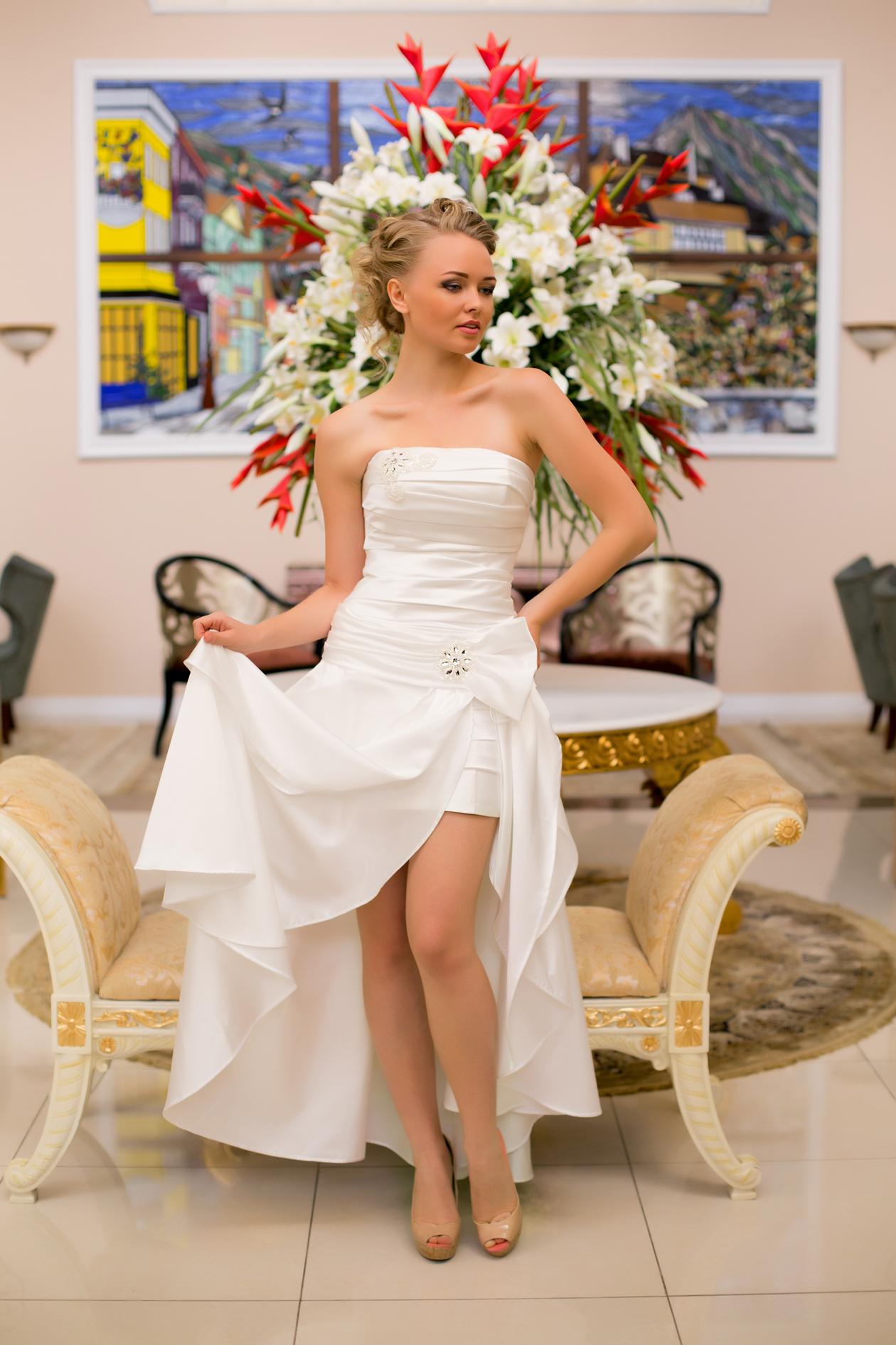 Платья со съемной юбкой