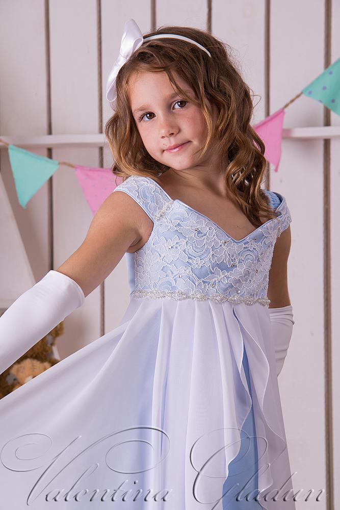 вечерние платья для девочек на выпускной