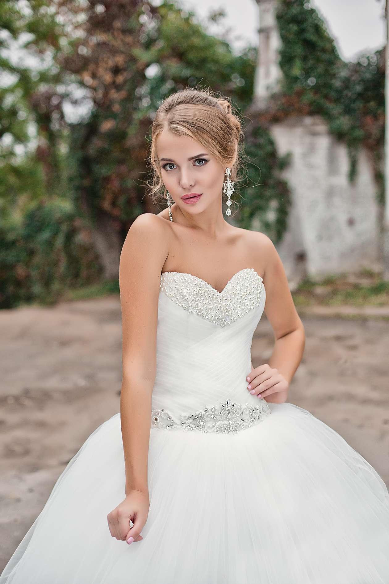 свадебные платья из фатина