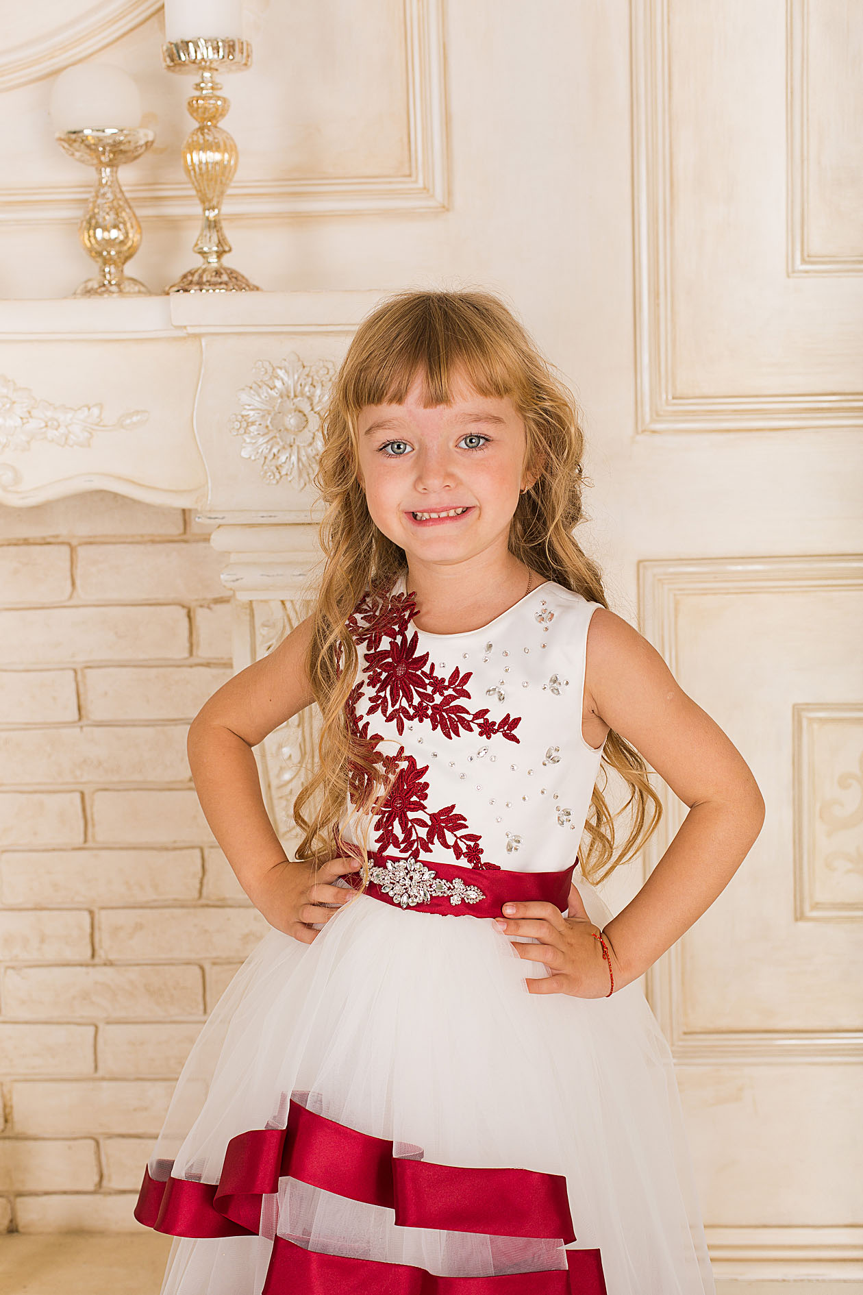 little princess Bonny bordo фото №3