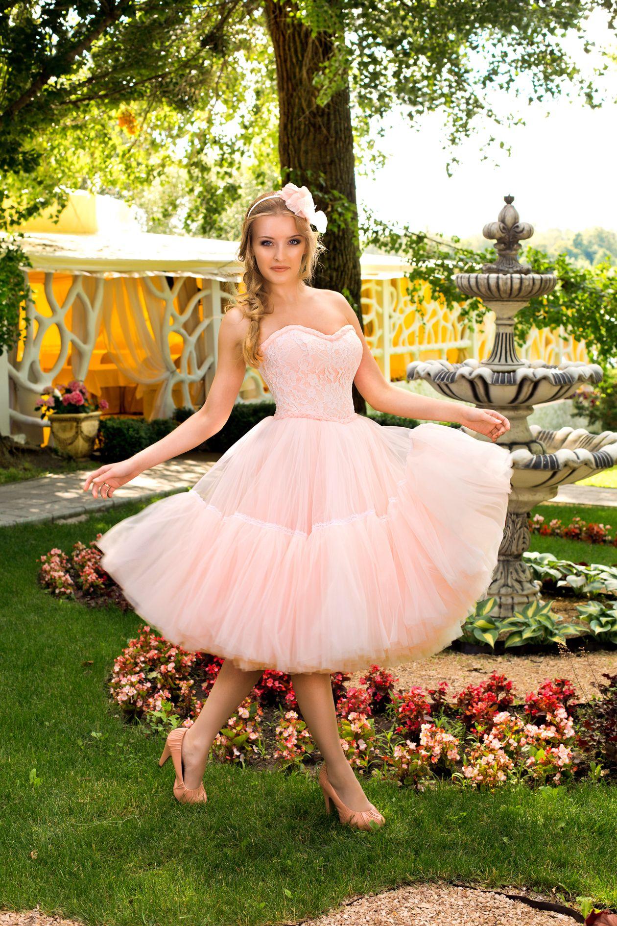 платье для садеьбы весной