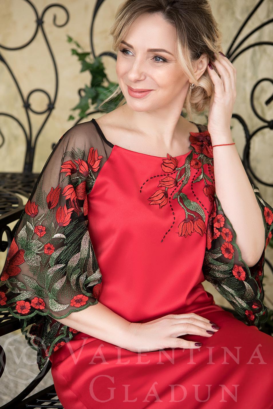53c4ded526b Коктейльное платье на корпоратив Holly · Красное платье для мамы  невесты(жениха) ...