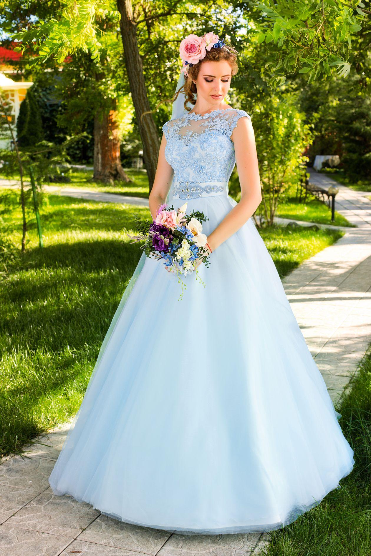 Купить Цветное Свадебное Платье Купить В Москве