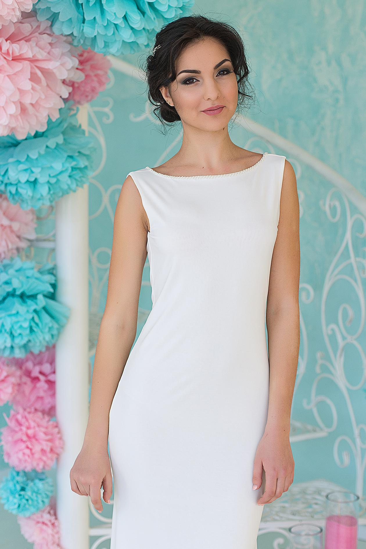 облегающие свадебные платья