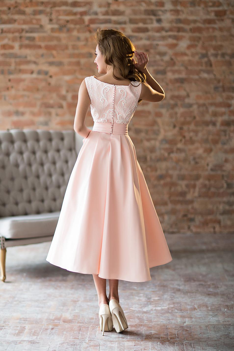 для вечерняя мода платья миди фото пример совмещения прихожей