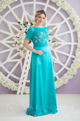 c679f80edab Наряд для мамы невесты Branda azure. Branda azure. Элегантное платье на  корпоратив ...