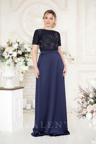 b2ea6a0dc70 Элегантное платье на корпоратив Branda dark blue