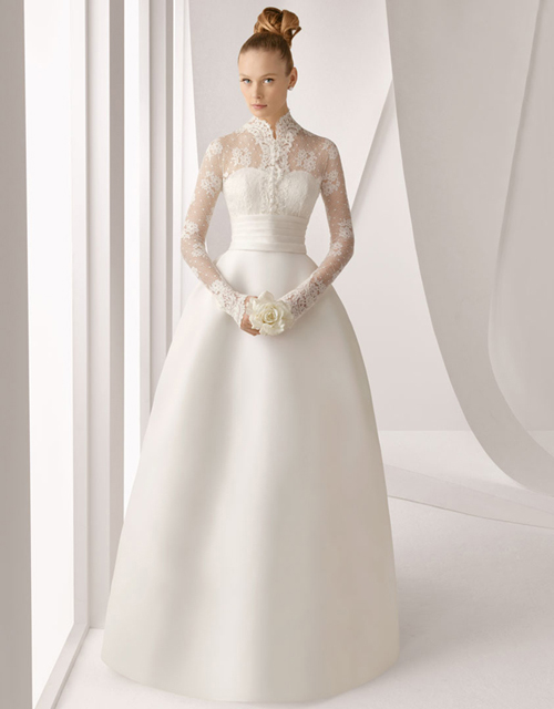 Платья для зимних свадеб