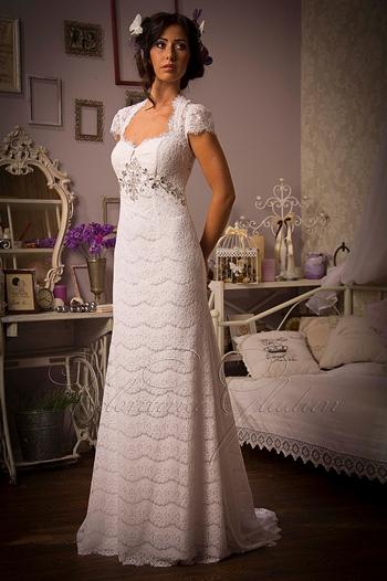 Платье для скромной свадьбы фото